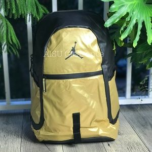 Nike Bags - NWT Nike Reflector Backpack Gold Unisex AUTHENTIC 49628f1abc653